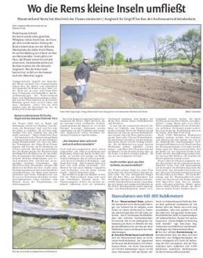 Schorndorfer Nachrichten 21. April 2017